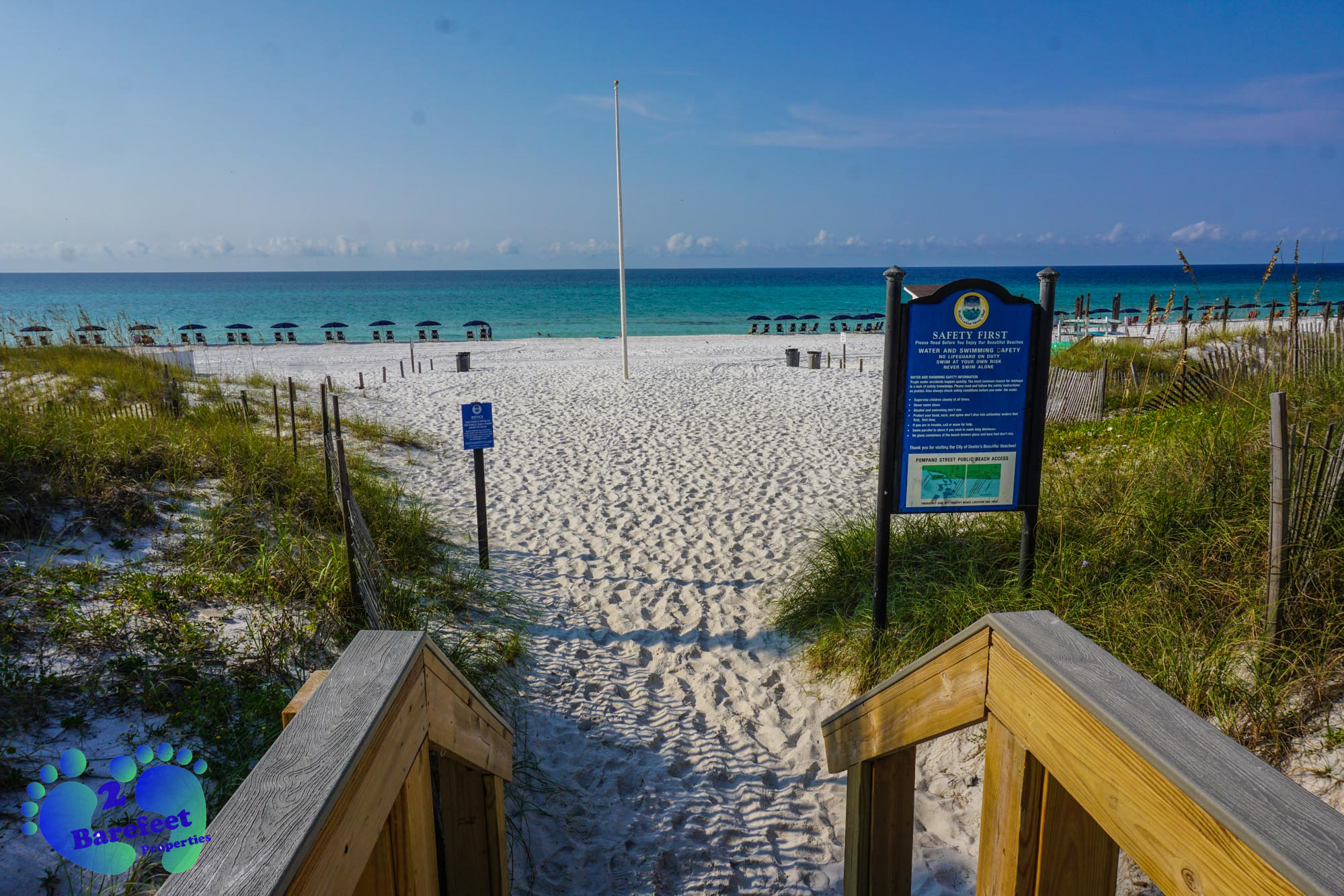 Grand Caribbean West Destin Beach Access