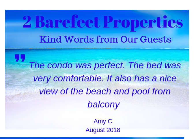 2 Barefeet Destin Guest Review
