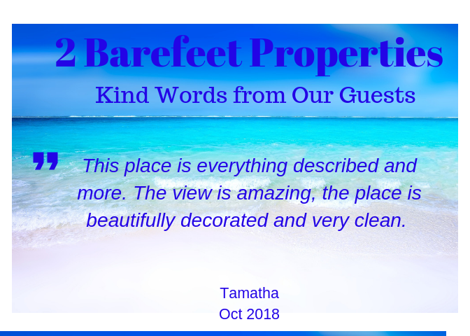 2 Barefeet Destin Guest Reviews
